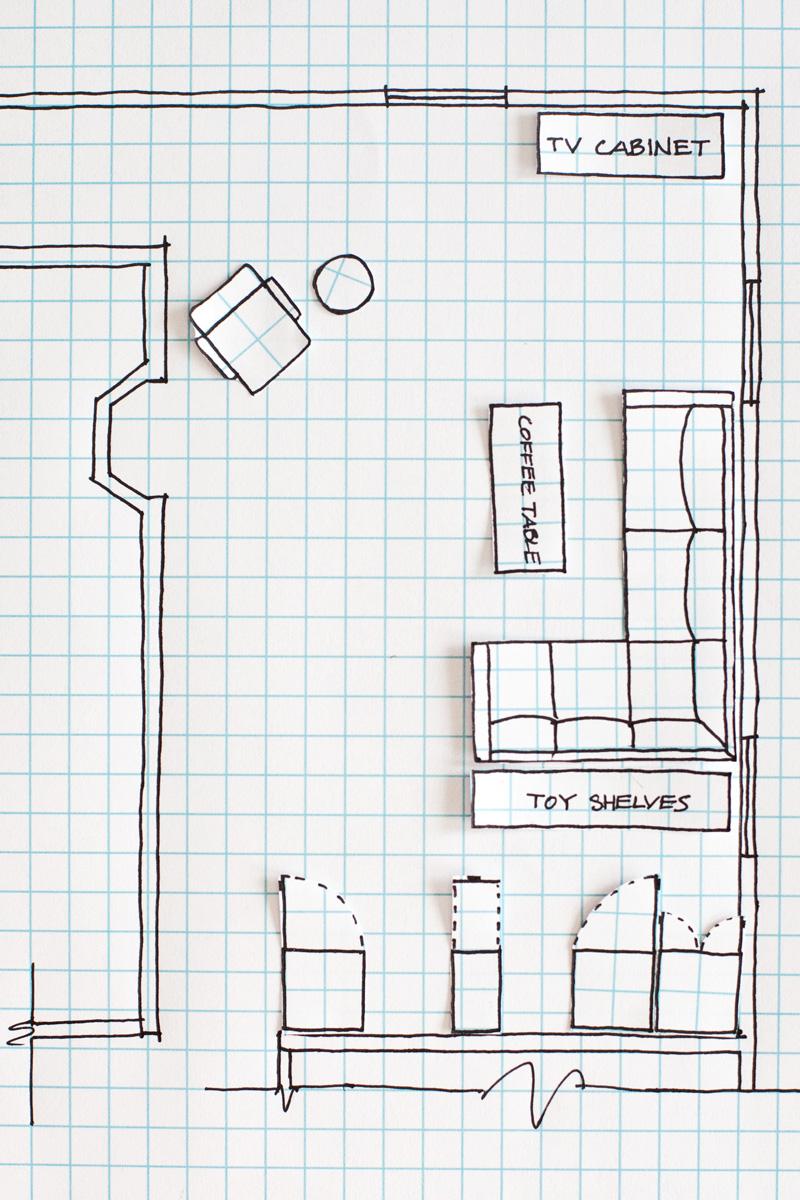 floor plan graph paper