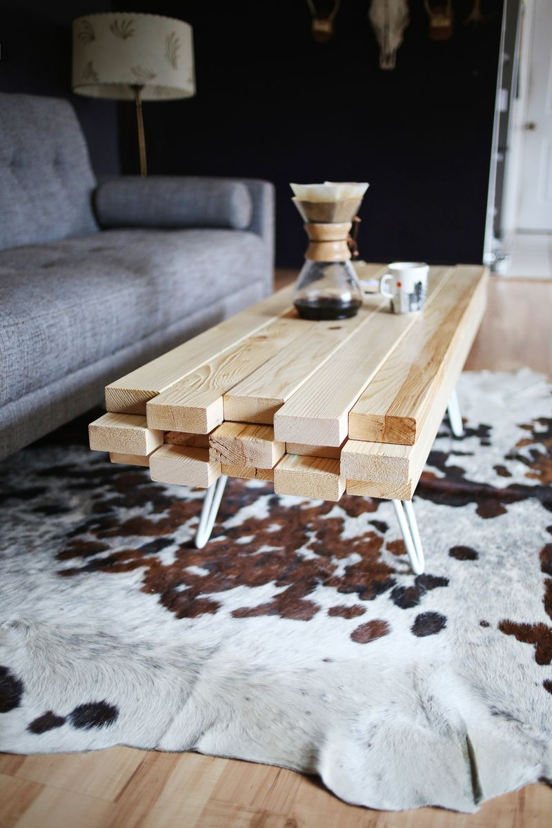 Beautiful Coffee Table Diy Wooden Coffee Table A Beautiful Mess