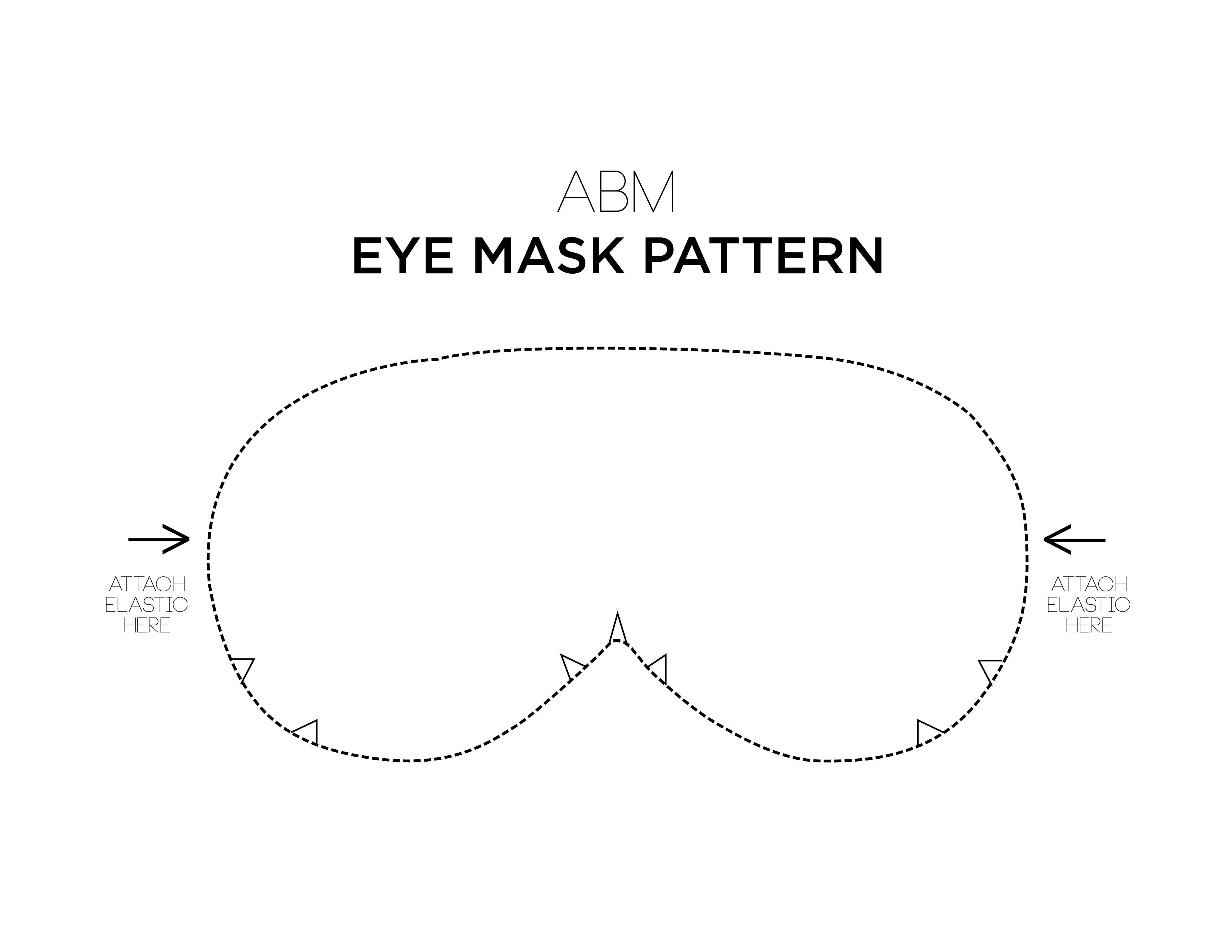 Eye Mask Template Erieairfair