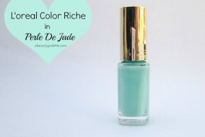 L'oreal Color Riche Nail Paint in Perle De Jade