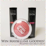 Celebrating 6.5K+ Facebook Fans Contest: WIN MAYBELLINE GOODIES!!! {CLOSED}