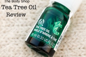 The Body Shop Tea tree Oil Review Price