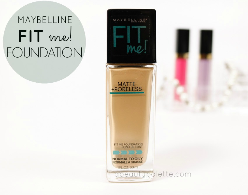Maybelline Fit Me Matte & Poreless Foundation: Review, Swatch, Price In India