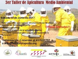 Cartell Taller Apicultura ambiental  3