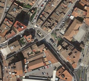 Foto aérea plaza Alcalde Reig