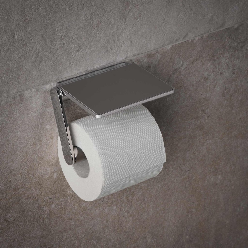 Concealed Toilet Paper Holder Keuco Plan Toilet Paper Holder With Shelf
