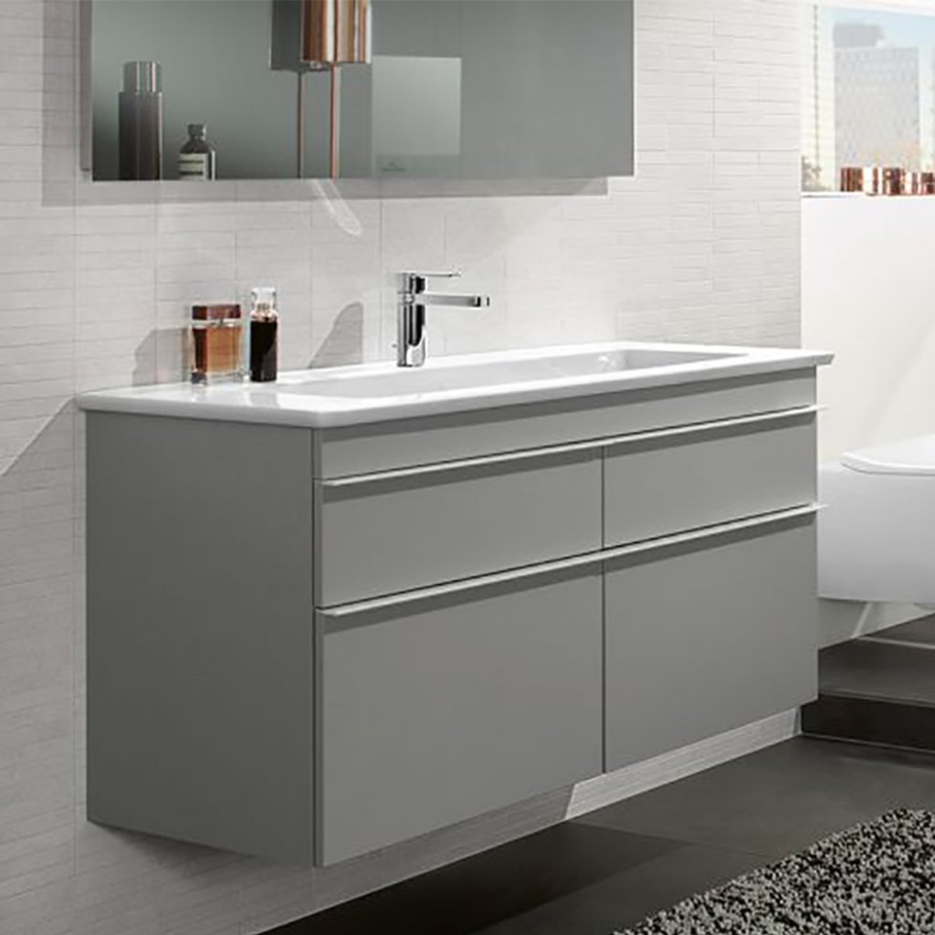 Venticello Villeroy Und Boch Villeroy Boch Venticello Double Basin Vanity Unit 1300x500mm Bundle