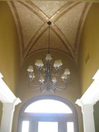 Gallery Groin Vault Ceiling