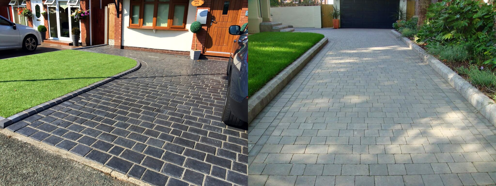 Contemporary Driveway Block Paving Abel Landscaping