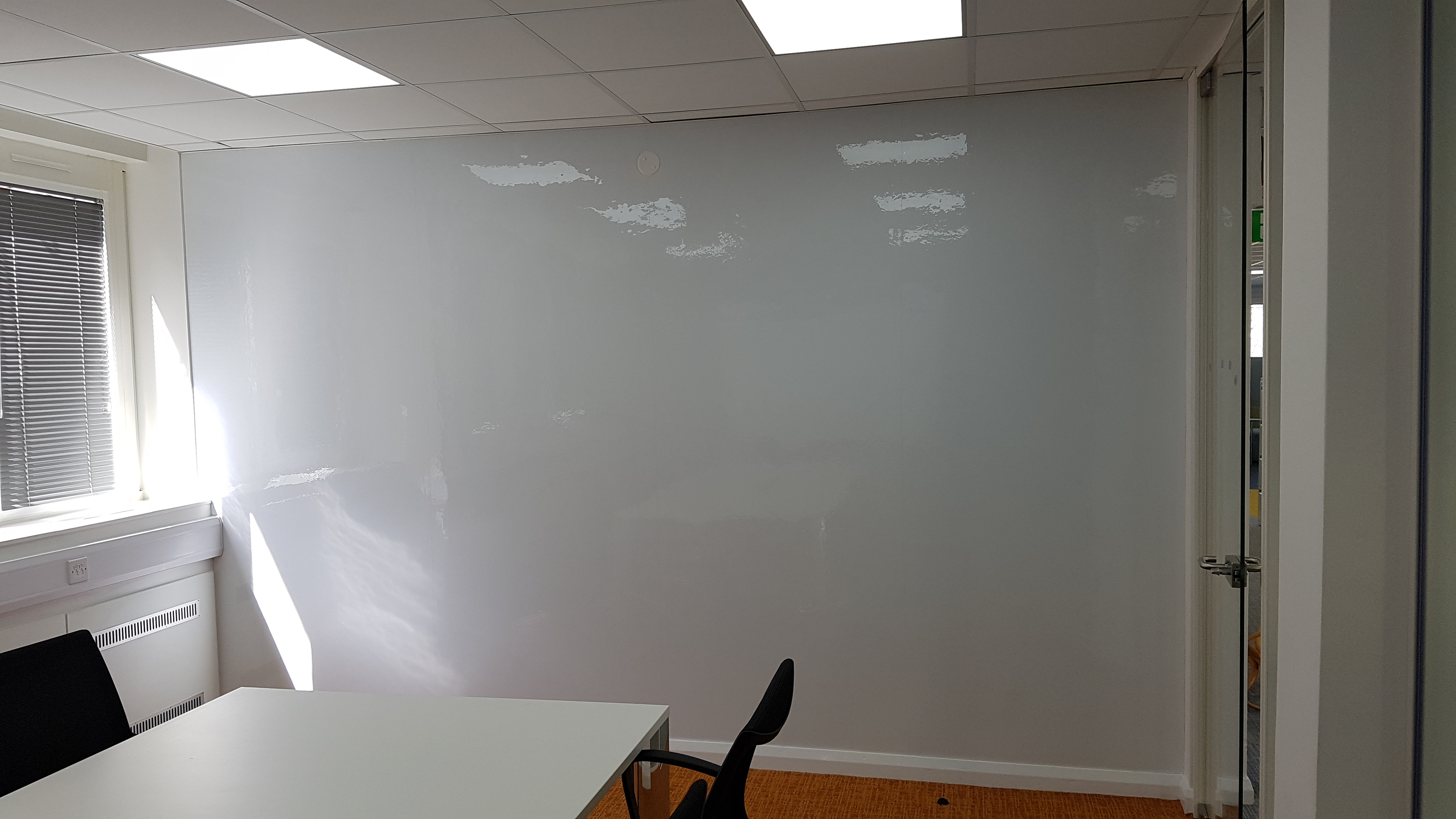 How To Turn A Wall Into A Whiteboard Magnetic Walls From Abel Magnets Abel Magnets