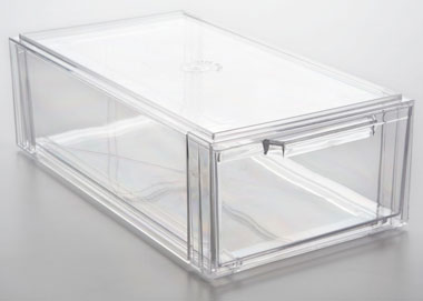 Clear Shoe Drawer Drawers Aberdeen Plastics
