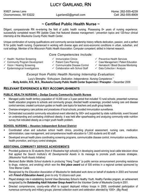 sample health nurse resume - mental health nurse sample resume