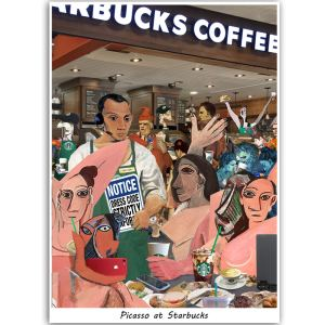 Wonderful C696 Picasso At Starbucks Pict Starbucks Dress Code 2016 Lookbook Starbucks Dress Code Pdf