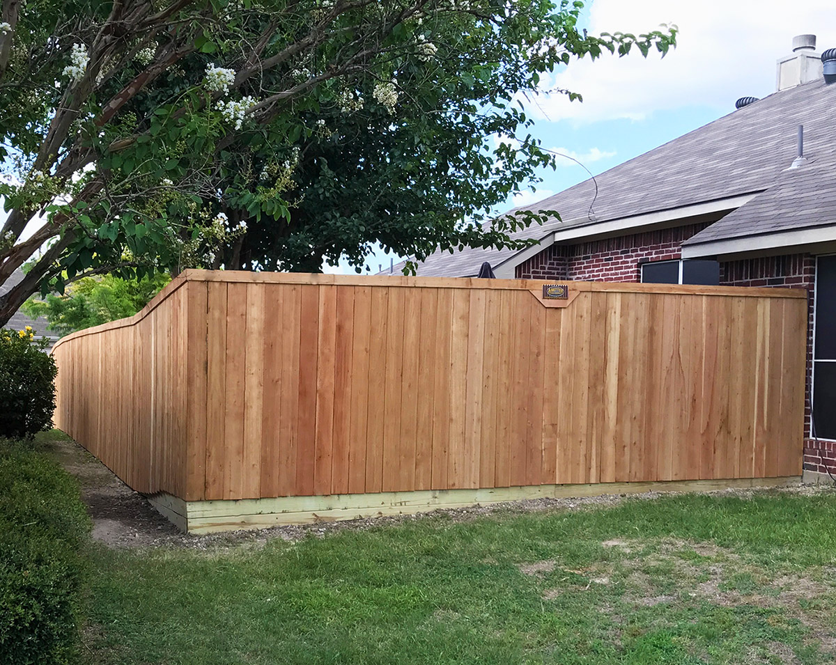 Backyard Fence Lewisville Fence Companies A Better Fence Company Lewisville Tx