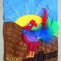 <!--:en-->Quiet book - Rooster<!--:--><!--:nl-->Voelboekje - Haan<!--:-->