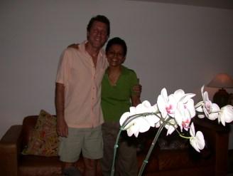 Roberto Boorhem e Elizabeth Michiles