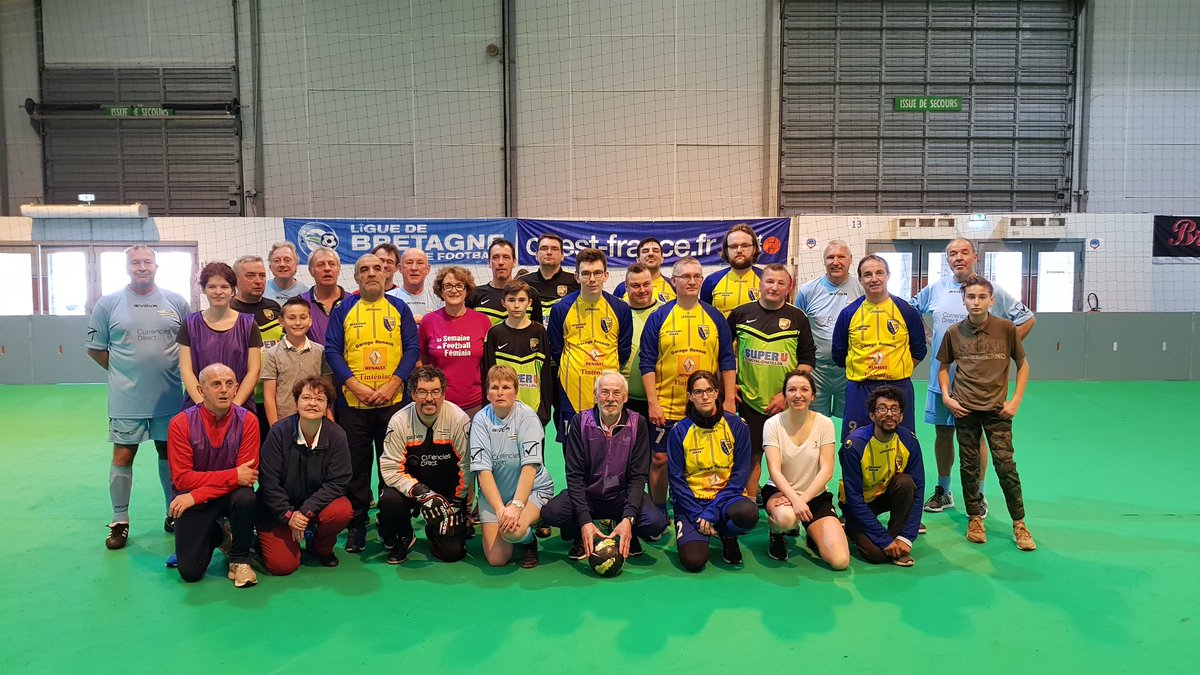 Home Salon Rennes Rennes Expo 24th March 2019 Brittany Walking Football Association