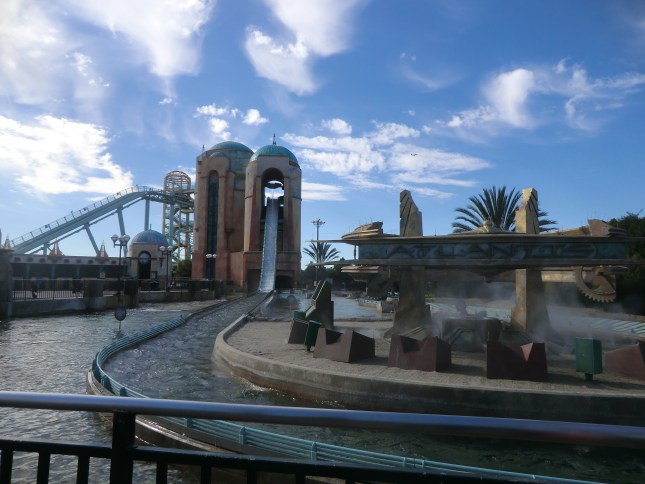 The Atlantis Ride at SeaWorld, San Diego