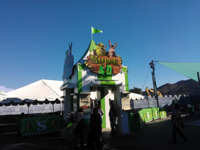 The Shrek RIde - Fun!