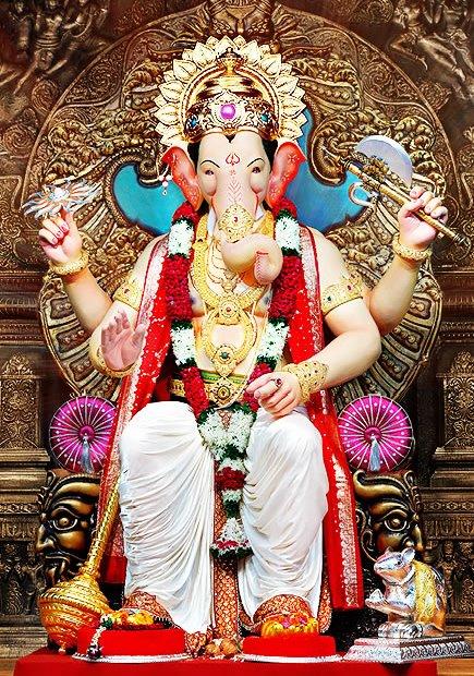 Lalbaug Ganpati Hd Wallpaper Ganpati Lalbaugcha Raja Hindu God