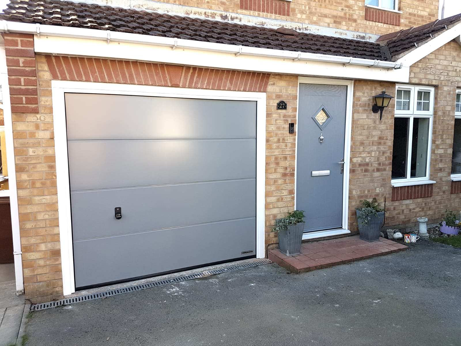 Garage And Front Doors That Match Abi Doors Front Doors Garage Doors Hormann Doors Yorkshire