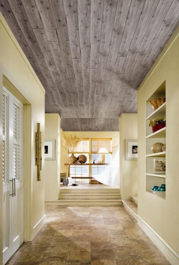 Holzdecke Streichen Weiß | Wände Streichen - Farbideen In