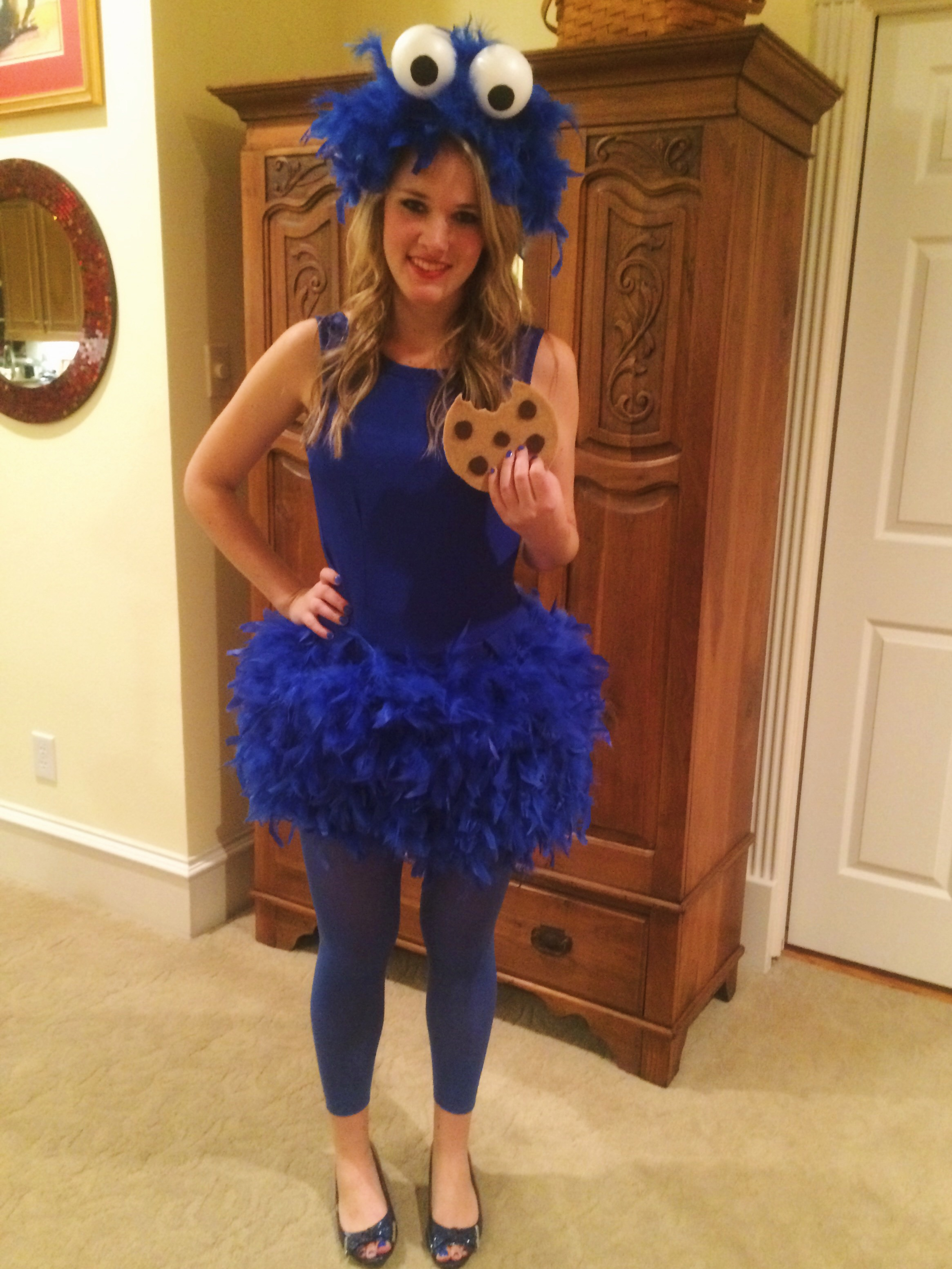 Diy Kostüm Damen Diy Cookie Monster Costume