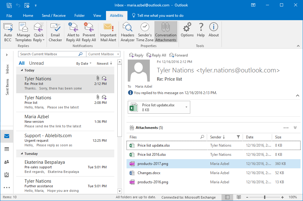 plug ins for outlook 2016 2013 2007