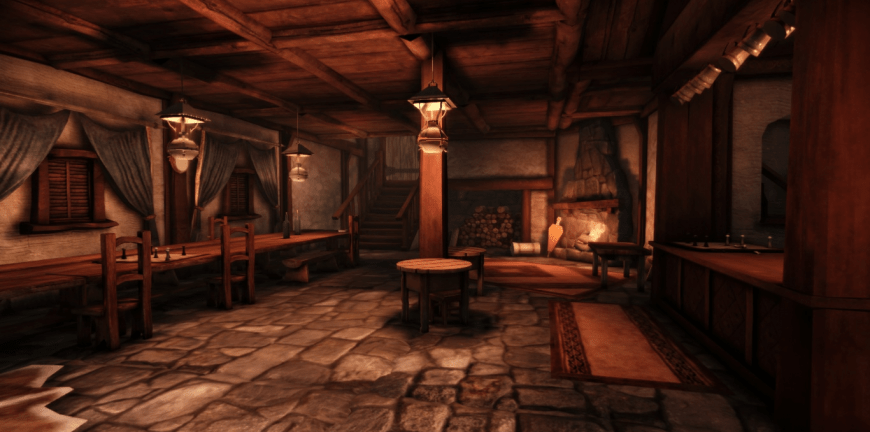 My Log Home 3d Live Wallpaper 8 Bit Tavern S 24 Hour Charity Stream The Ablegamers Charity