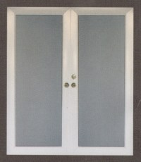 Security Screen Doors: French Door Security Screens