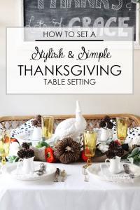 Stylish Table Settings & Stylish Settings Burlap Table Setting