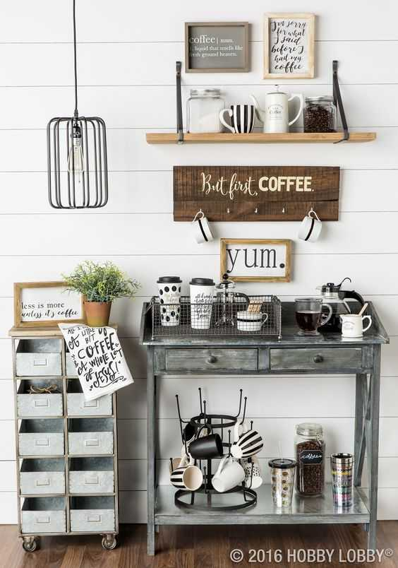 Mueble Aparador Vintage Coffee Bar Ideas - How To Make A Coffee Bar At Home
