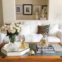 How to Style a Coffee Table - Coffee Table Styling - A ...