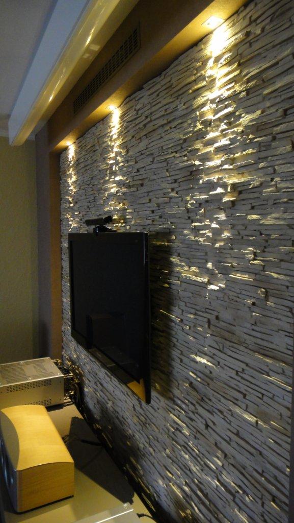 Steinwand Wohnzimmer Fernseher ~ artownit for  - steinwand wohnzimmer fernseher