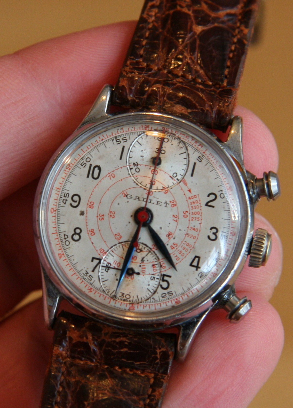 Casio Vintage Living With The Past: Week With 1940's Vintage Gallet