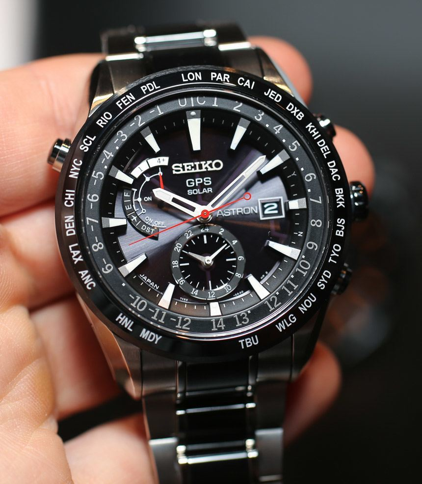 Seiko Astron Seiko Astron Gps Solar 2013 Watches Hands On Ablogtowatch