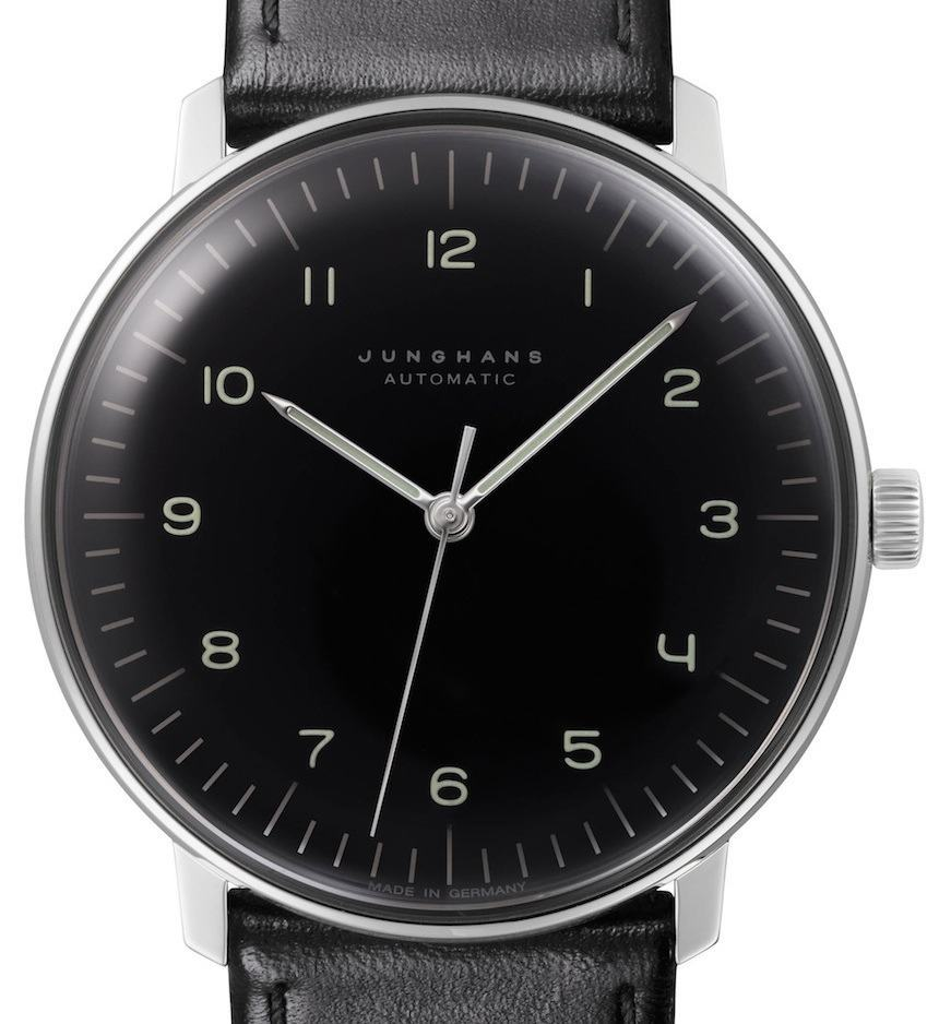 Max Bill Automatic Bauhaus Style New Junghans Max Bill Watches Ablogtowatch