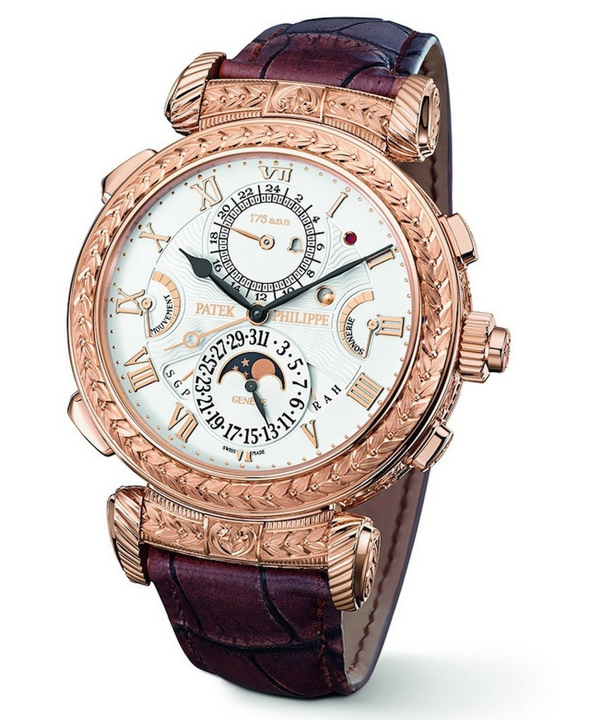 P Philippe Watch Patek Philippe Grandmaster Chime 5175 Watch For 175th Brand