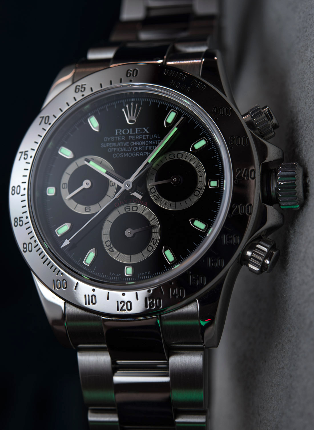 Black Rolex Rolex Daytona 116520 In Steel With Black Dial Watch Review
