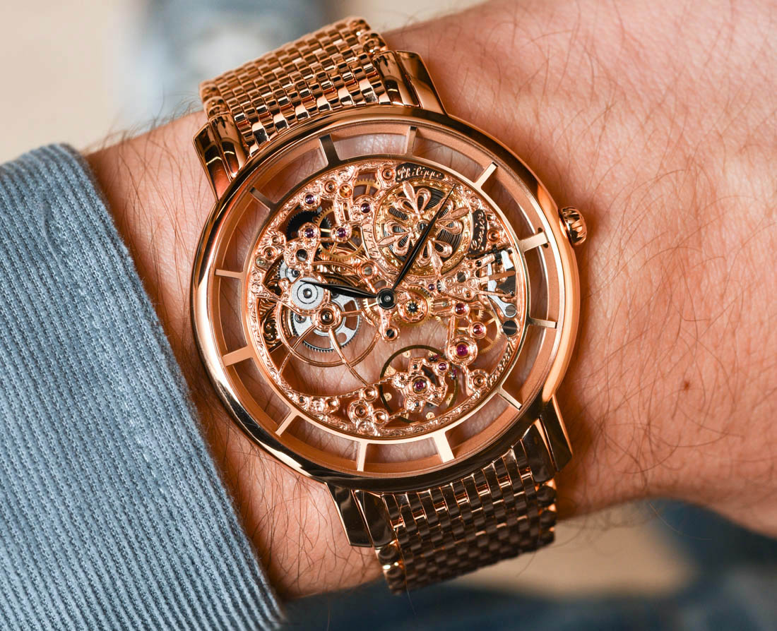 P Philippe Watch Patek Philippe Calatrava 5180 1r Skeleton Watch Hands On