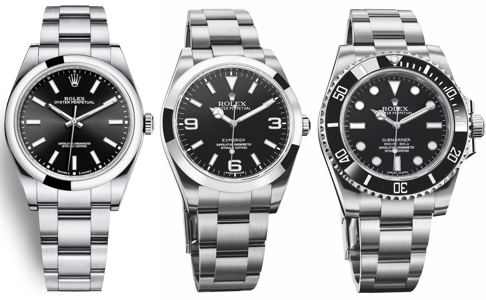 Rolex Explorer Rolex Explorer I 214270 39mm Review Ablogtowatch