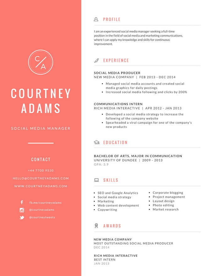 cv assistant qualite canva