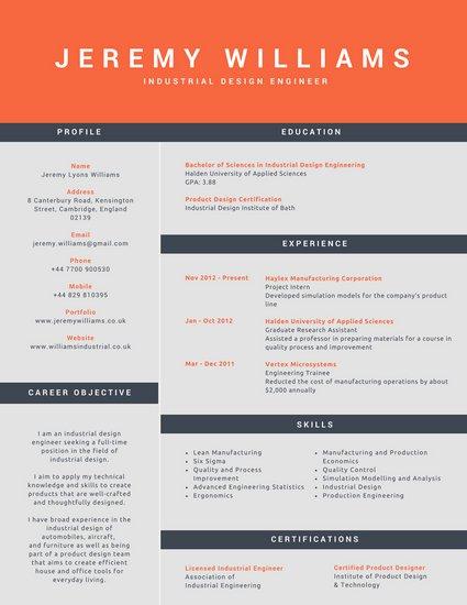 corporate resume templates
