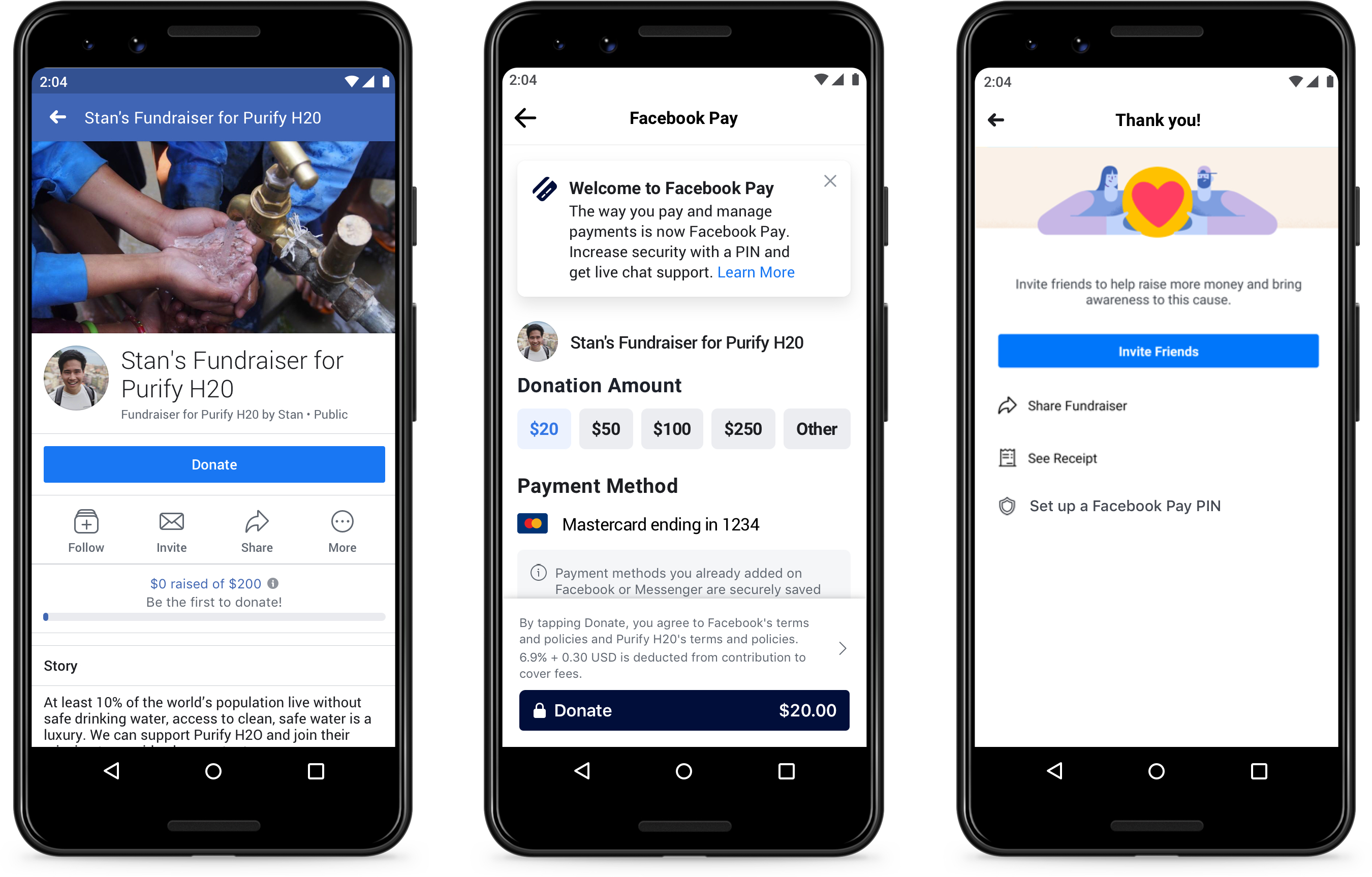 Simplifying Payments With Facebook Pay About Facebook