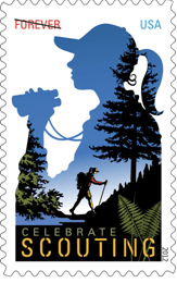 Girl Scout Stamp