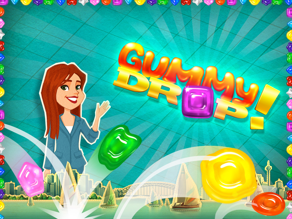 Bigfishgames Gummy Drop Match 3 Puzzle Game 43 Ipad Mini Sweepstakes