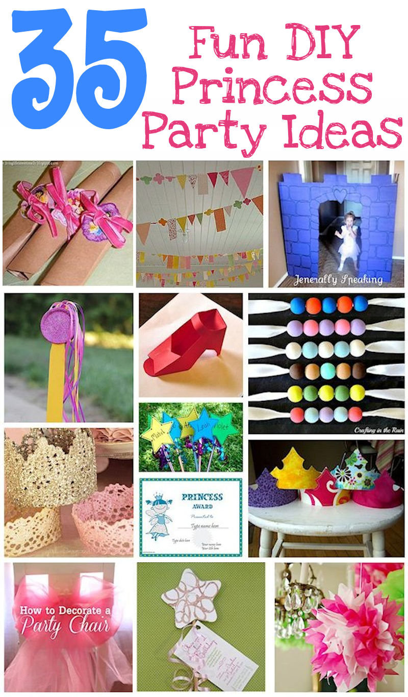 Diy Party 35 Diy Princess Party Ideas About Family Crafts