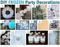 75+ DIY Frozen Birthday Party Ideas  About Family Crafts
