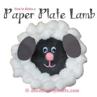How to Make a Paper Plate Lamb  About Family Crafts