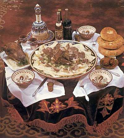 Kazakhstan Food And National Meals - Traditionelle Kasachische Küche
